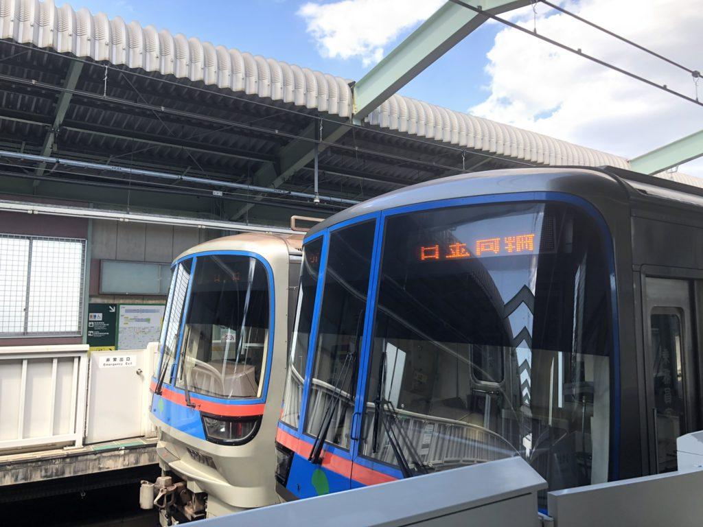 西高島平駅に停車する三田線
