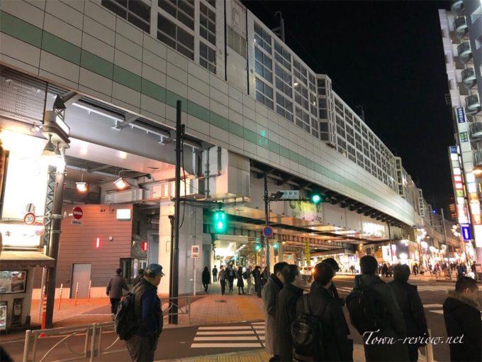 神田駅東口の交差点