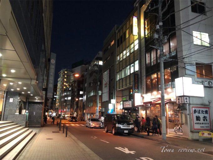 神田駅西口界隈の様子