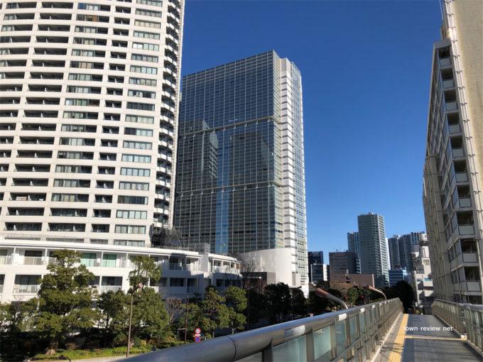 品川Vタワーとインターシティの写真