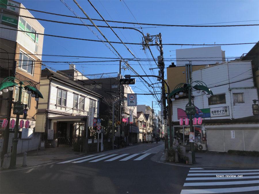 ジュネーブ平和通りと旧東海道の角