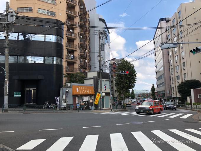 泉岳寺から白金高輪駅へ