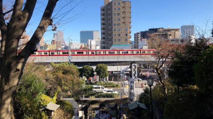【新馬場駅】東海道品川宿と品川神社に囲まれた街