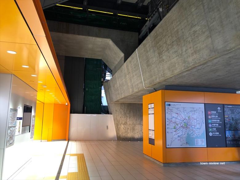 銀座線・新【渋谷駅】が始動。オレンジ色を多用した最新型の駅に