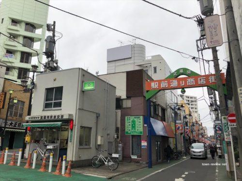 武蔵関駅南口の様子