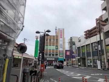 武蔵関駅前の雰囲気